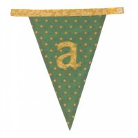 Floral Alphabet Letter Bunting from Bombay Duck: A