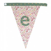 Floral Alphabet Letter Bunting from Bombay Duck: E