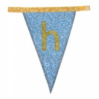 Floral Alphabet Letter Bunting from Bombay Duck: H