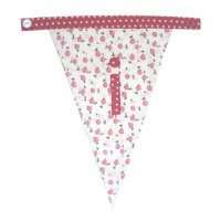 Floral Alphabet Letter Bunting from Bombay Duck: I