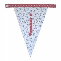 Floral Alphabet Letter Bunting from Bombay Duck: J