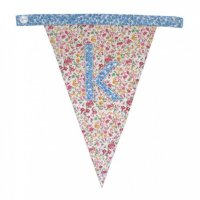 Floral Alphabet Letter Bunting from Bombay Duck: K