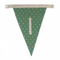 Floral Alphabet Letter Bunting from Bombay Duck: L