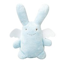 Large Angel Rabbit (Ange Lapin) in Blue from Trousslier