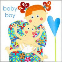 Greeting Card - New Baby Boy