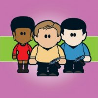 Weenicon Greetings Card - Beam me Up Scotty