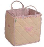Butterfly Cottage Toy Bag from Win Green