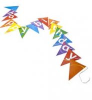 Happy Birthday Bunting from Talking Tables