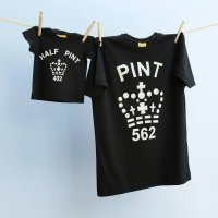Pint T-shirt in Black