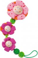Blossoms Pacifier Chain from Haba