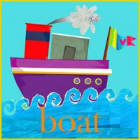 Greeting Card - Boat