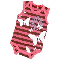 Butterfly Print Bodyvest from Oh Baby! London