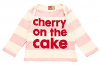 Cherry On The Cake Baby T-Shirt from No Added Sugar