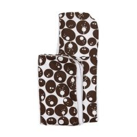 Chocolate Pod Hooded Towel from Ella & Otto