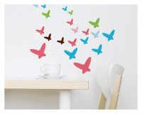 Flutterflies Wall Decals from Wall Candy