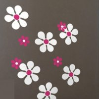 Daisy Re-stik Wall Decals from Blik
