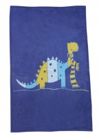 Large Niki Blanket from David Fusseneger - Dinosaur in Blue