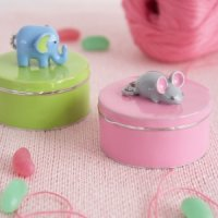 Mouse Keepsake Trinket Box