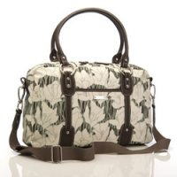 Storksak Elizabeth Charcoal Bloom