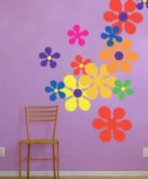 Flower Power Wall Decals from Blik