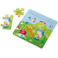 Discovery Puzzle from Haba - Flower Fairies