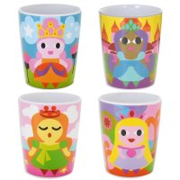 Set of 4 Princess Cups