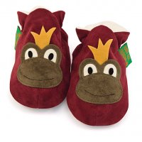 Frog Prince Soft Baby Shoes