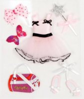 Clippykit Sticker Kit Bits - Tutu Pretty