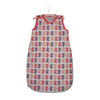 Baby Sleeping Bag 2.5 tog in Kitty Print from Cloud Cuckoo