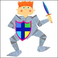 Greeting Card - Knight