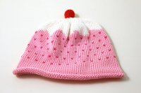 Merry Berry Cupcake Knitted Baby Hat
