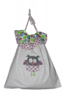 Reversible Laundry Bag in Owl print from Cloud Cuckoo