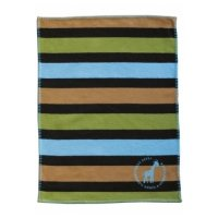 Lilli Striped Blanket from David Fussenegger - Blues