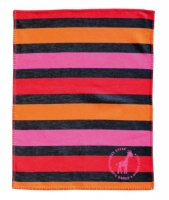 Lilli Striped Blanket from David Fussenegger - Pinks