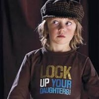 Lock Up Your Daughters T-shirt in Brown - No Added Sugar
