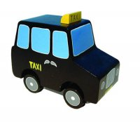 Wooden London Black Taxi Cab