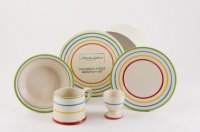Childs breakfast set in Bright Stripe from Martin Gulliver