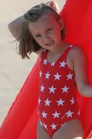 Red Star Swimsuit from Mitty James