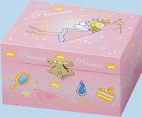 Princess Musical Jewellery Box from Trousellier