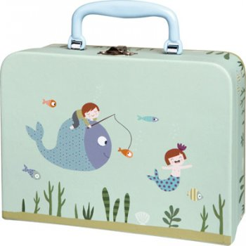 ninon and nioui aquatic world suitcase from Trousselier