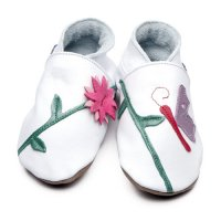 Oriental Butterfly Leather Baby Shoes