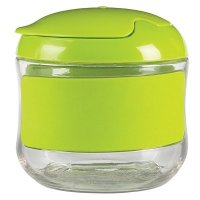 Oxo Tot Flip Top Snack Pot in Green
