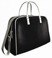 Uchi Black / Oyster Baby & Travel Bag