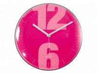 Pink Wall Clock from Karlsson