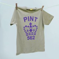 Pint T-shirt in Pebble