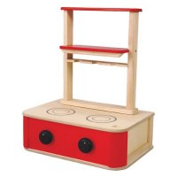 Wooden Play Kitchen Stove from Plan Toys