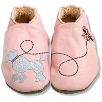 Poodle Leather Baby Shoes from No Added Sugar
