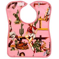 Pop bib: Pink Cowgirl