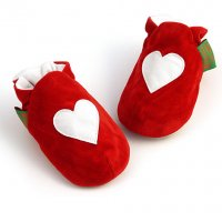 Red Heart Soft Baby Shoes