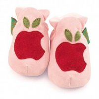 Red Apple Soft Baby Shoes